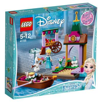 乐高(LEGO)积木 迪士尼公主Disney Princess艾莎的集市历险5-12岁 41155 儿童玩具 女孩生日礼物