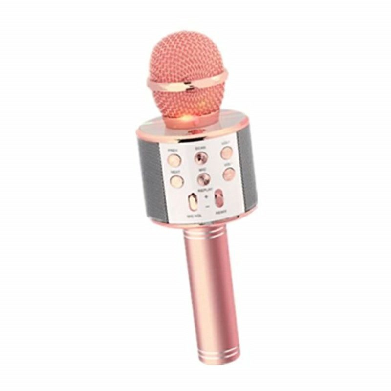 蓝牙麦克风 Q008 k歌宝无线话筒手机K歌神器唱歌音响一体